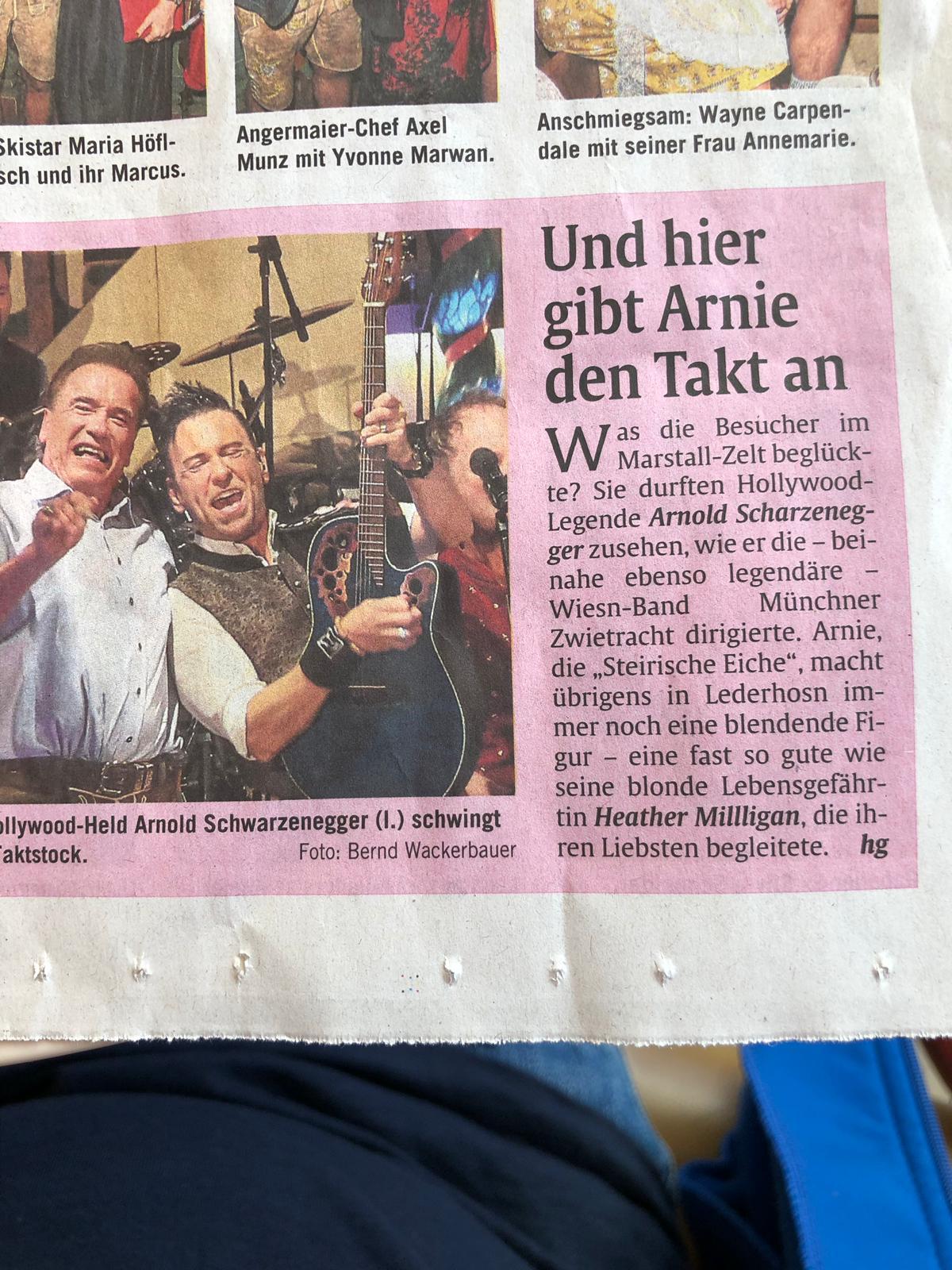 Vollgas Orchester Best of 41 Schwarzenegger