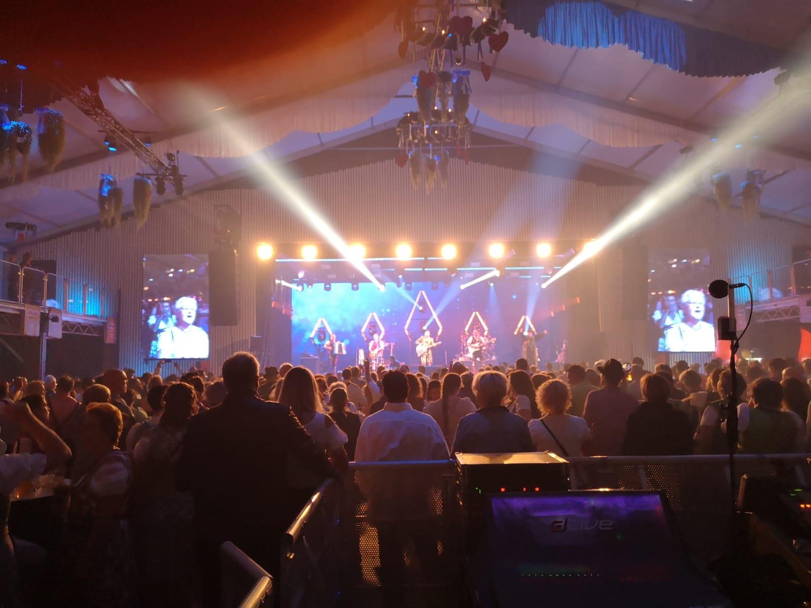 Vollgas Orchester Best of 43 Lightshow